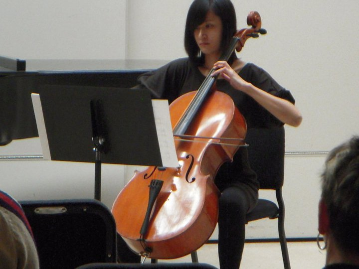 Han-Wei playing 2011 Local Composers Concert